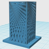 Small Aesthetic Architecture Bird Feeder 3D Printing 171620