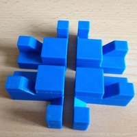Small Apparently Impossible Cube 3D Printing 17193