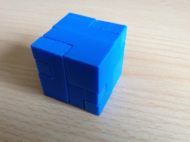 Apparently Impossible Cube 3D Print 17196