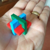 Small Carbon puzzle by Donald Osselaer 3D Printing 17197