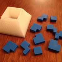 Small Cube Libre puzzle 3D Printing 17206