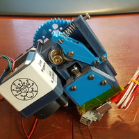 Small Easy exchange filament extruder  3D Printing 172092