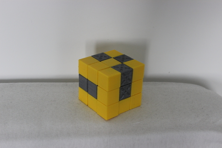 Snake puzzle cube 3D Print 172337