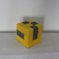Small Snake puzzle cube 3D Printing 172337