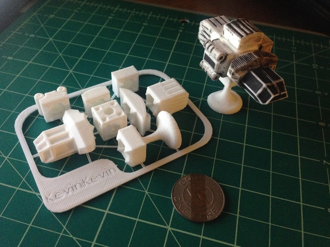 MagShips: Preview Set 3D Print 17318