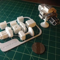 Small MagShips: Preview Set 3D Printing 17318