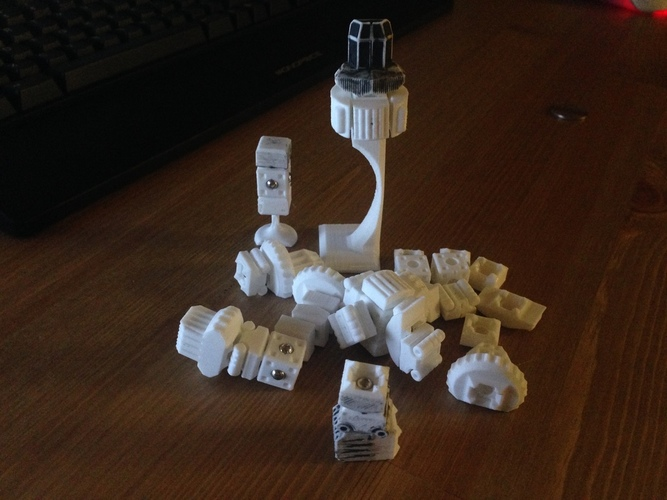 MagShips: Preview Set 3D Print 17322