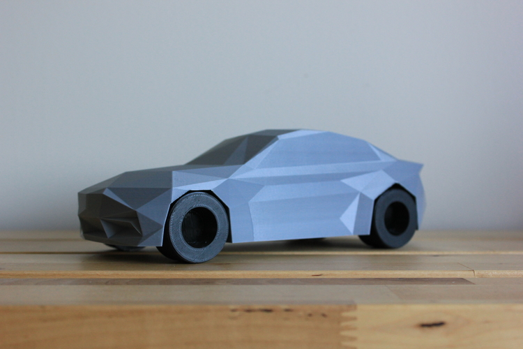 Low-Poly 2017 BMW M2 3D Print 173323