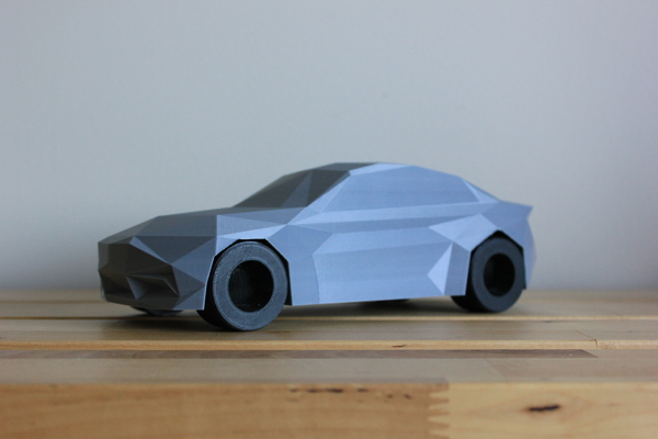 Medium Low-Poly 2017 BMW M2 3D Printing 173323