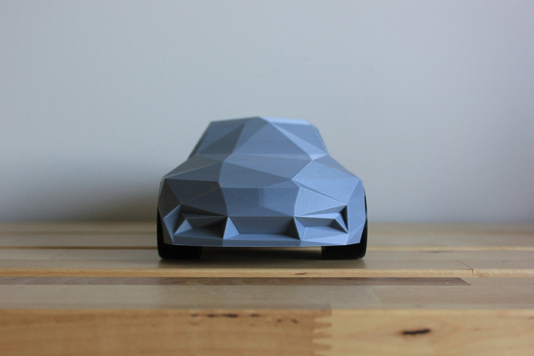 Low-Poly 2017 BMW M2 3D Print 173334
