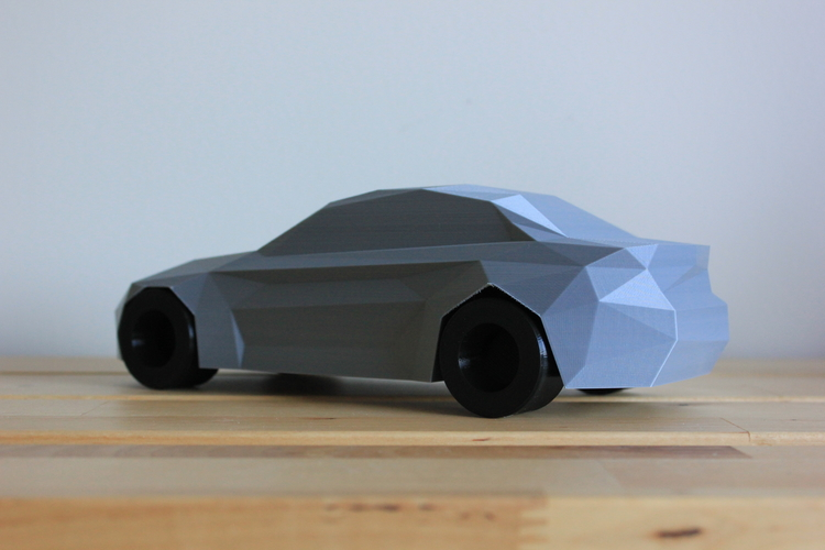 Low-Poly 2017 BMW M2 3D Print 173335