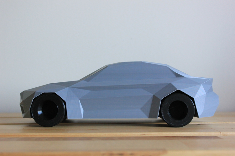 Low-Poly 2017 BMW M2 3D Print 173338