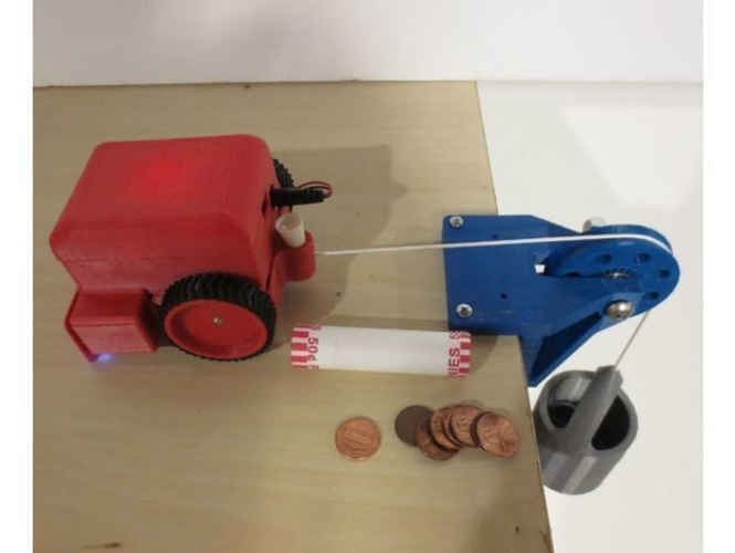 SimpleSumo- Educational Fighting Robots! 3D Print 173440