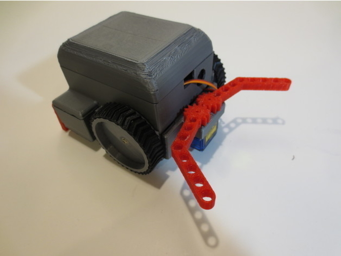 SimpleSumo- Educational Fighting Robots! 3D Print 173446