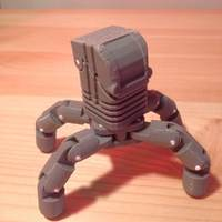 Small Mini Articulating Quadruped Mech 3D Printing 17373