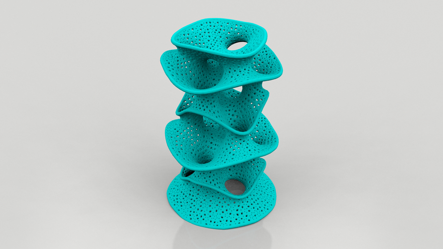 Protonik Decor Vase 3D Print 17392