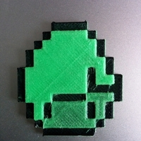 Small Minecraft tools, diamond & creeper 3D Printing 174012