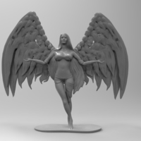 Small Beautiful Angel 3D Printing 174545