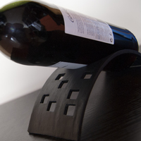 Small Wine Stand 3D Printing 17481