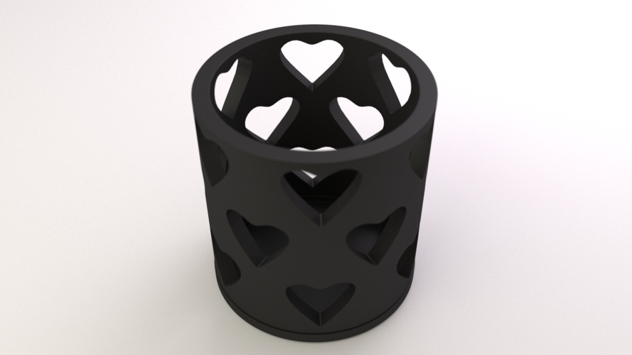 Tealight Cover Set 3D Print 17488
