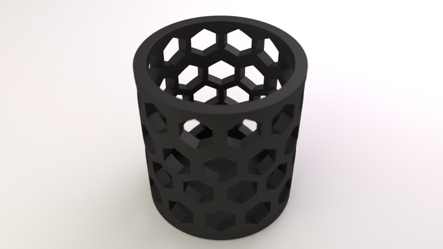 Tealight Cover Set 3D Print 17489