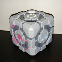 Small Rubik's Weighted Companion Cube 3D Printing 174918