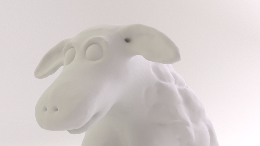 Easter Sheep 3D Print 17492