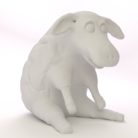 Small Easter Sheep 3D Printing 17493