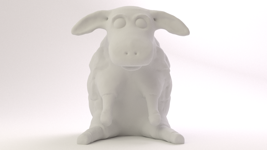 Easter Sheep 3D Print 17494