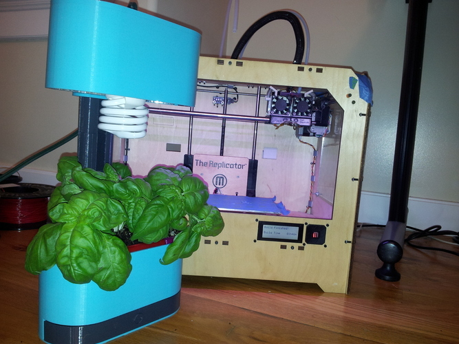 Counter Top Herb Garden 3D Print 17503