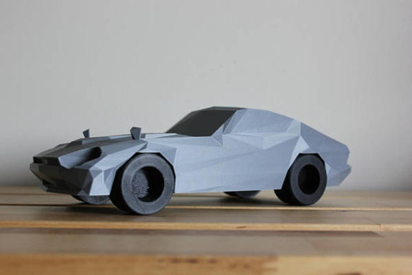 Medium Low-Poly 1972 Datsun 240z 3D Printing 175066