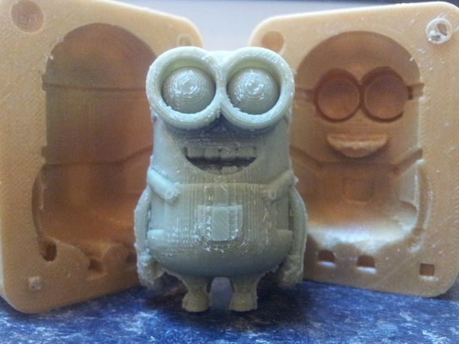 Minions Molds for Printing and Decorating