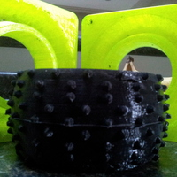 Small Truggy Tire Mold 3D Printing 17515