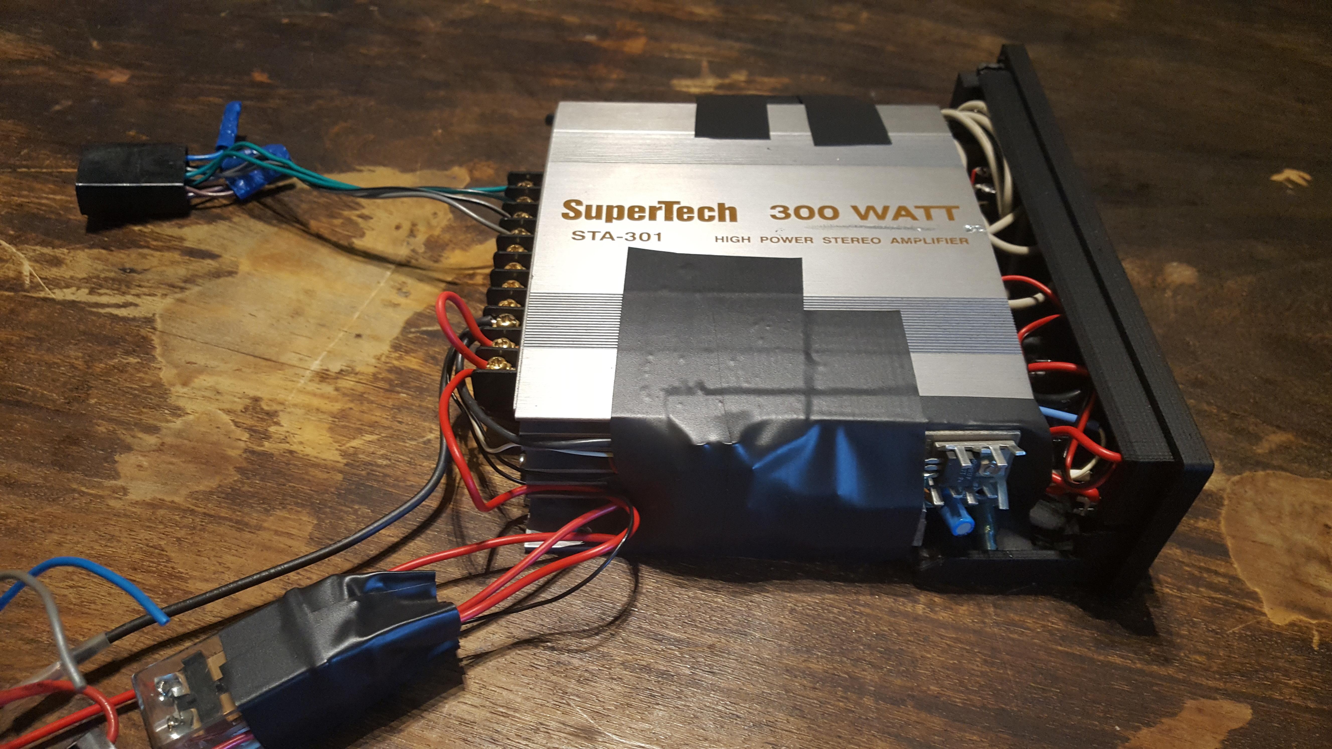 3d Printed Diy Car Radio Replacement By Jobsmolders Pinshape Auto Electrical Wiring