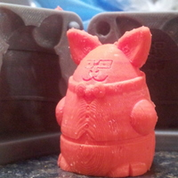 Small Squigglepeeps: Pigdexter Mold 3D Printing 17531