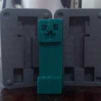 Small Creeper Mold 3D Printing 17533