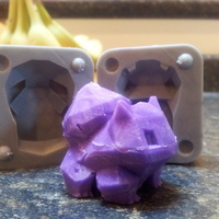 Small Low Poly Bulbasaur Mold 3D Printing 17535