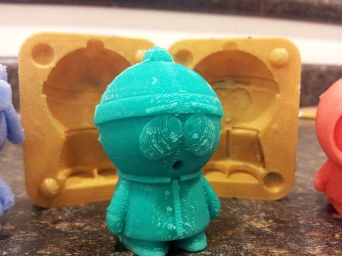 Mold for Stan from Southpark 3D Print 17540