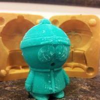 Small Mold for Stan from Southpark 3D Printing 17540