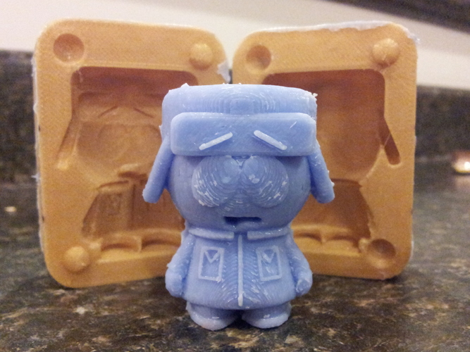 Mold for Kyle from Southpark 3D Print 17541