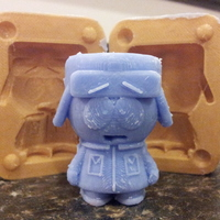 Small Mold for Kyle from Southpark 3D Printing 17541