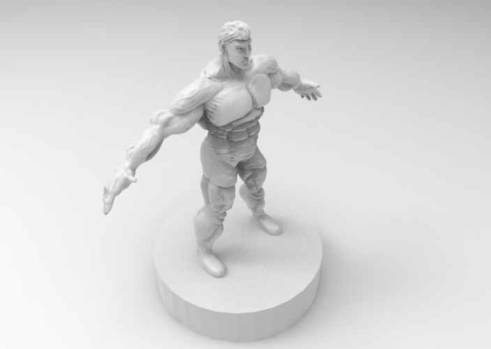 muscle male character 3D Print 175421