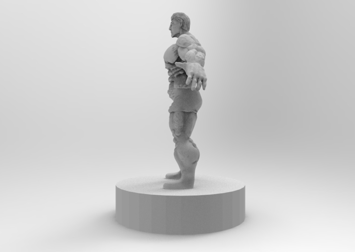 muscle male character 3D Print 175423