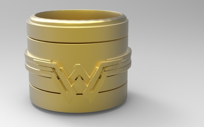 Wonder Woman Container 3D Print 175627