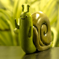 Small Adventure Time Lich Snail 3D Printing 175638