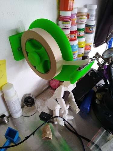 wall tape dispenser 3D Print 175653