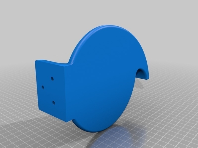wall tape dispenser 3D Print 175655