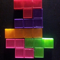 Small Magnetic Tetris Pieces  3D Printing 17570