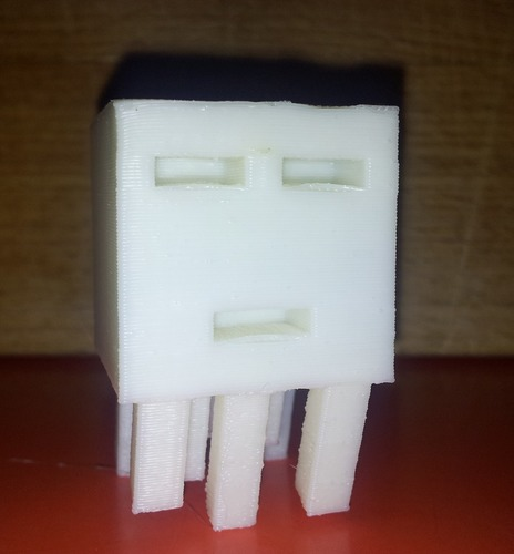 Big Minecraft Ghast 3D Print 17574