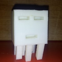Small Big Minecraft Ghast 3D Printing 17574